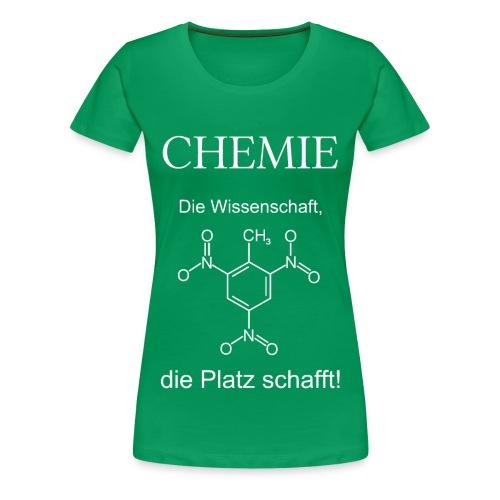 Chemie TNT weiß T-Shirt Frauen - Frauen Premium T-Shirt