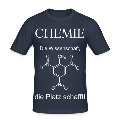 Chemie TNT weiß Slim T-Shirt Männer - Männer Slim Fit T-Shirt
