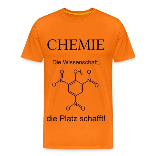 Chemie TNT T-Shirt Männer - Männer Premium T-Shirt