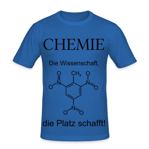 Chemie TNT Slim T-Shirt Männer - Männer Slim Fit T-Shirt
