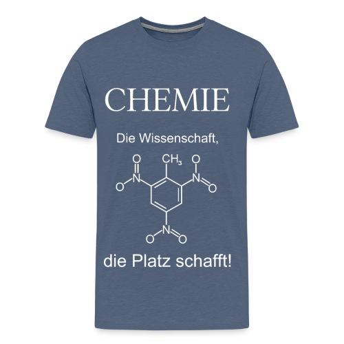 Chemie TNT weiß T-Shirt Männer - Männer Premium T-Shirt