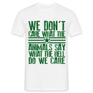 Animals Say - Men's T-Shirt