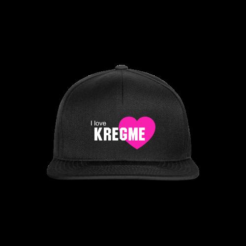 KregmeLOVE - I love Kregme - Snapback Cap
