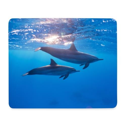 Tapis de souris dauphins - Tapis de souris (format paysage)