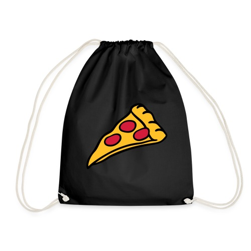 sportbag mit pizza  - Turnbeutel