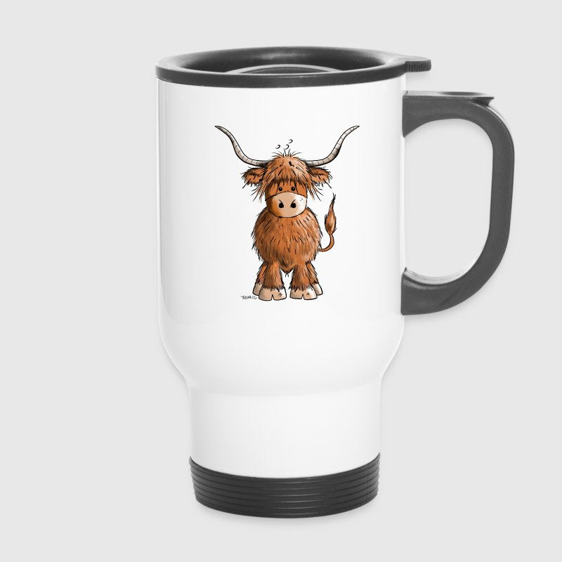 Scottish Highland Cattle Mugs & Drinkware - Travel Mug