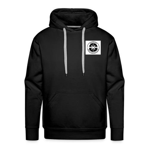 Black Money £ Motivated Hoodie - Men's Premium Hoodie