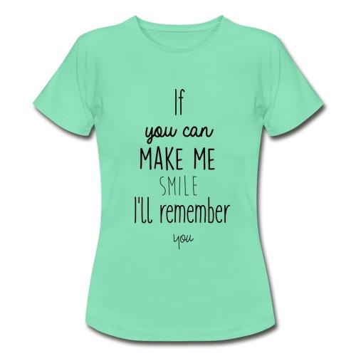 T-Shirt femme B&C Collection 100% coton citation anglaise - T-shirt Femme