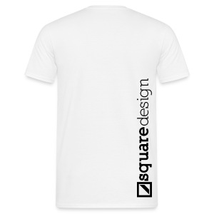 The Square Design - white - Männer T-Shirt