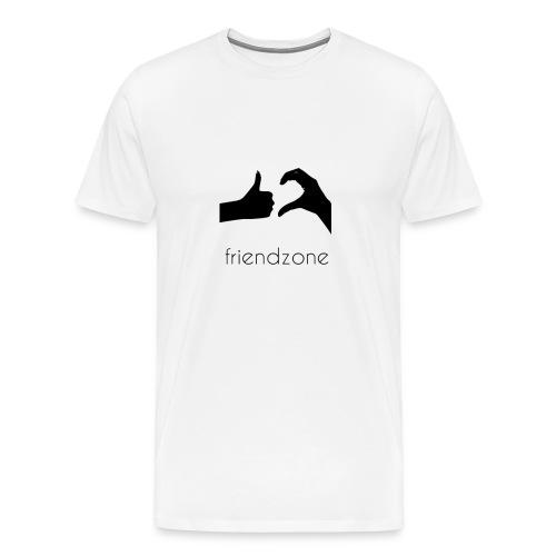 friendzoned - Herre premium T-shirt
