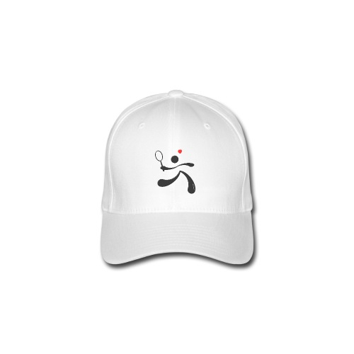 TENNIS HEART - Flexfit Baseball Cap