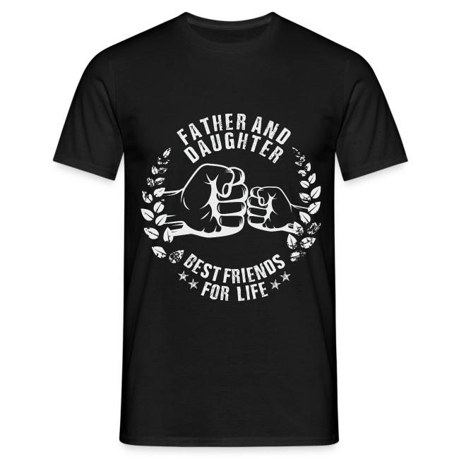 Father and Daughter best friends for life grey T-Shirts
