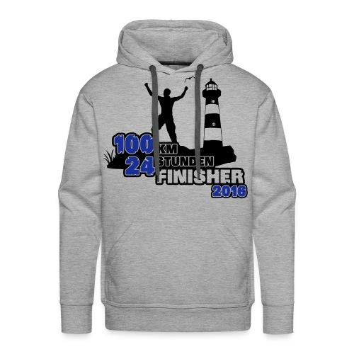 Finisher 100 km - Männer-Hoodie - Männer Premium Hoodie