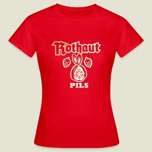 Rothaut Pils, distressed - Frauen T-Shirt