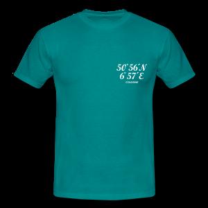 Köln Koordinaten Cologne T-Shirt - Männer T-Shirt