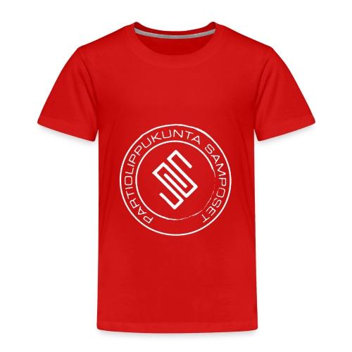Lasten punainen t-paita (pienet koot) - Lasten premium t-paita