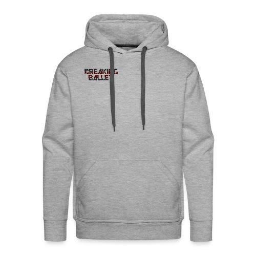 Men's Premium Heather Grey Hoodie - Men's Premium Hoodie