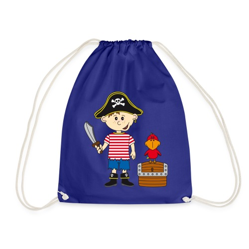 Piraten Turnbeutel   Turnbeutel Kindergarten - Turnbeutel
