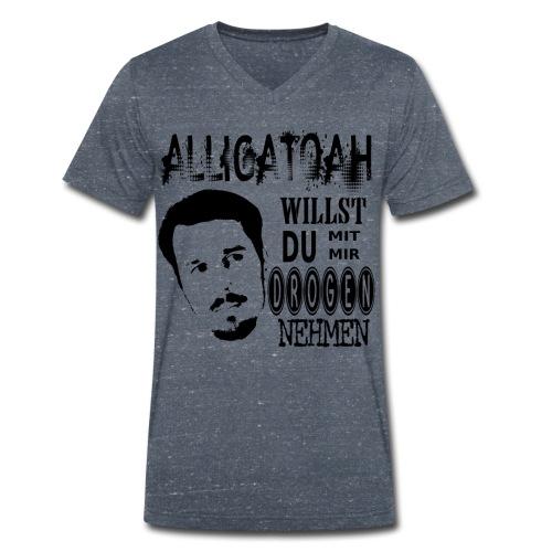 Alligatoah- WIllst du - Männer Bio-T-Shirt mit V-Ausschnitt von Stanley & Stella