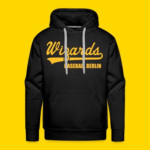 Wizards Hoody Männer MIT NAMEN UND NUMMER - Männer Premium Hoodie