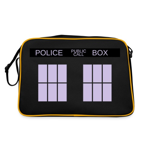 sacoche doctor who - Sac Retro