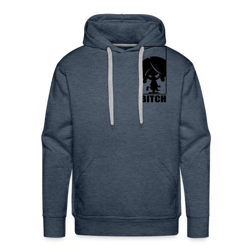 Bitch - Sudadera con capucha premium para hombre