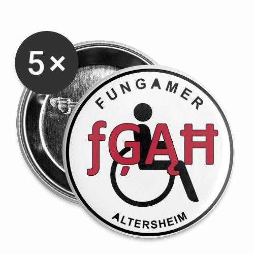 FGAH Button - klein - Buttons klein 25 mm (5er Pack)