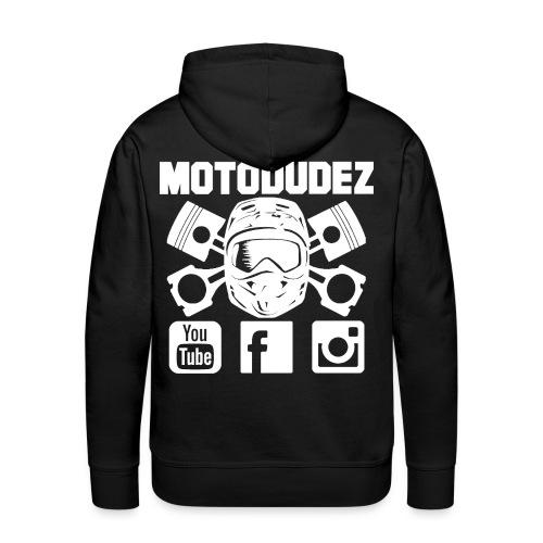 Kapuzenpullover MOTODUDEZ  - Männer Premium Hoodie