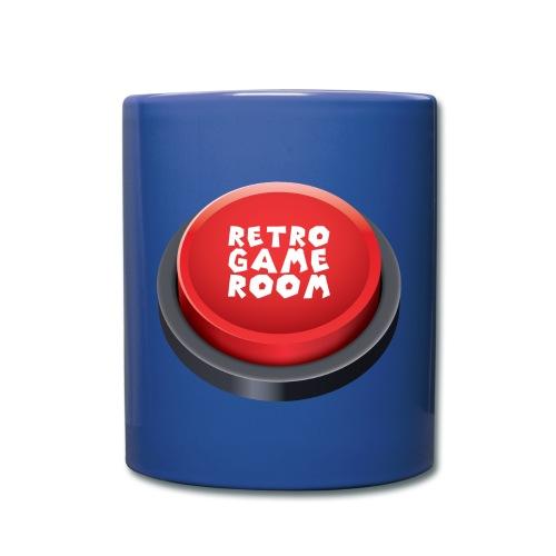 Arcade Button Mug - Blue - Full Colour Mug