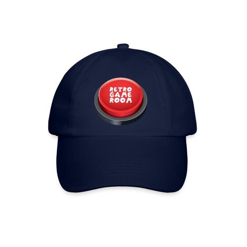 Arcade Button Cap - Blue - Baseball Cap