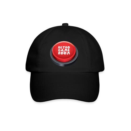 Arcade Button Cap - Black - Baseball Cap