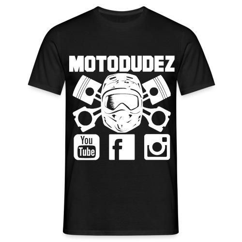 T-Shirt MOTODUDEZ - Männer T-Shirt