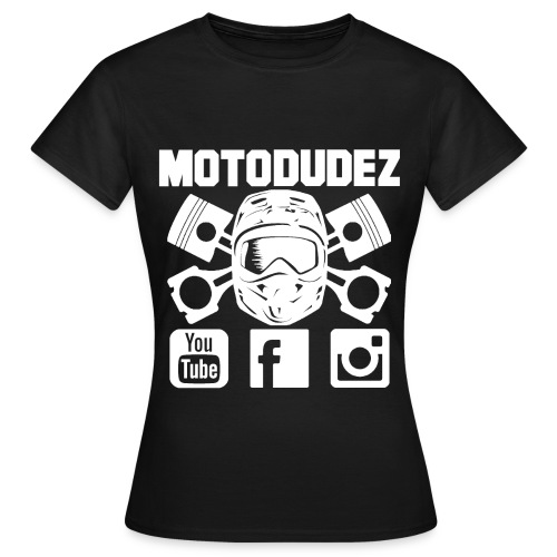Frauen T-Shirt MOTODUDEZ - Frauen T-Shirt
