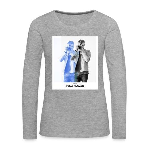 FELIX Women's Sweat Shirt by Felix Holzer® - Women's Premium Longsleeve Shirt