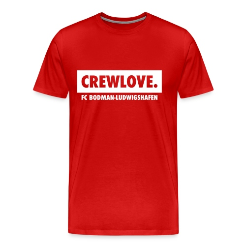 Männer-T-Shirt Crewlove rot - Männer Premium T-Shirt