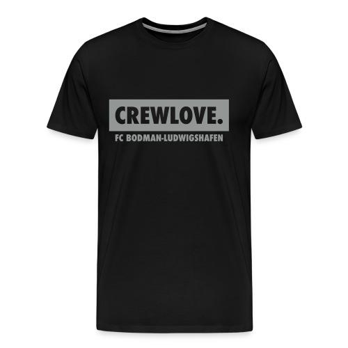 Männer-T-Shirt Crewlove schwarz - Männer Premium T-Shirt