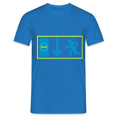 T Shirt €xit - Männer T-Shirt