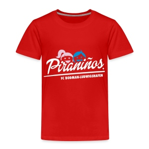 Kinder-T-Shirt Piraniños rot - Kinder Premium T-Shirt
