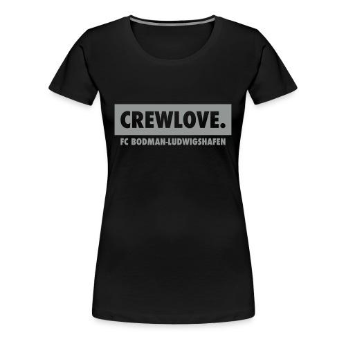 Frauen-T-Shirt Crewlove schwarz - Frauen Premium T-Shirt