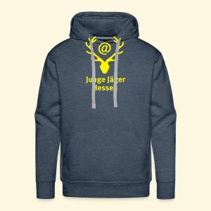 Jägerlogo-Kapuzenpulli - Männer Premium Hoodie