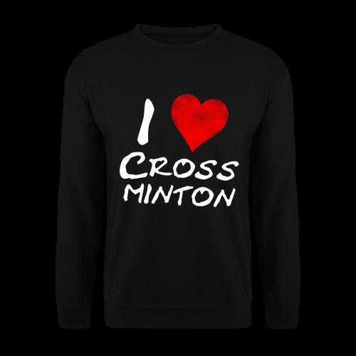 Männer I Love Crossminton Sweatshirt - Männer Pullover