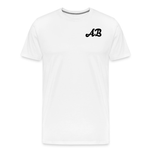 AB T-Shirt White Men - Men's Premium T-Shirt