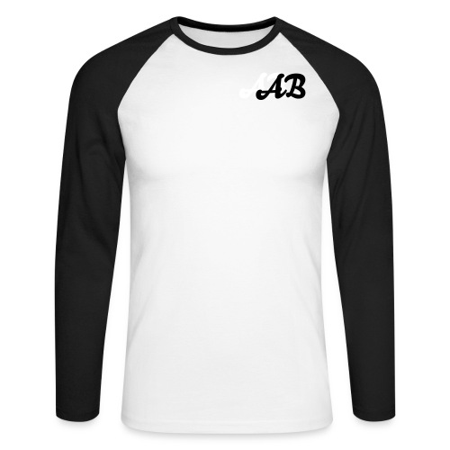 AB Men's Long Sleeve T-Shirt  - Men's Long Sleeve Baseball T-Shirt