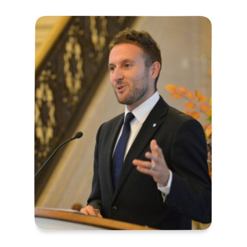Chris Lyttle MLA Mouse Mat - Mouse Pad (vertical)