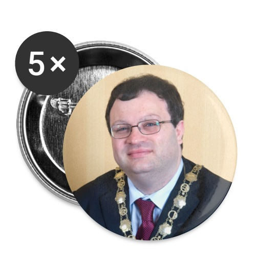 Dr Farry Badges - Buttons small 1''/25 mm (5-pack)