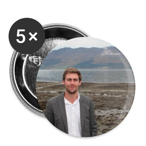 Cllr Patrick Brown Badges - Buttons small 25 mm