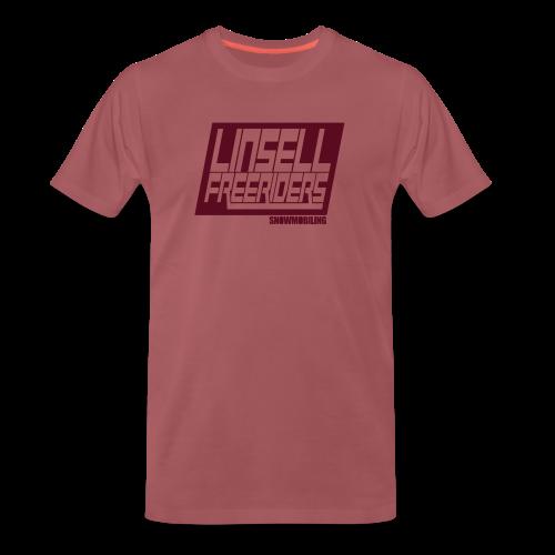 Retroracing (röd/röd) - Premium-T-shirt herr