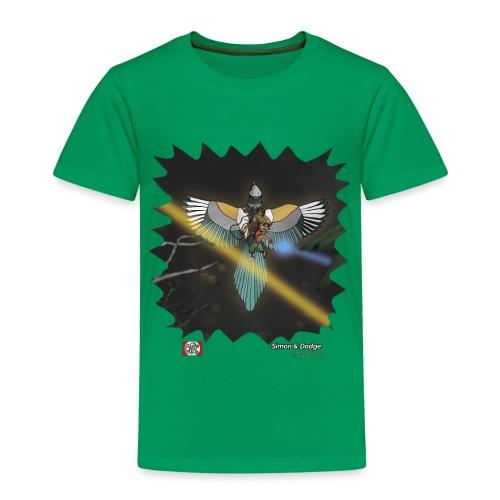 Simon & Dodge (2-8 år) - Børne premium T-shirt