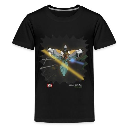 Simon & Dodge (10-12 år) - Teenager premium T-shirt