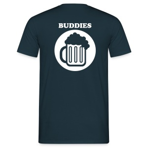 Drinking Buddies - Men's T-Shirt